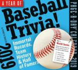 A Year of Baseball Trivia! Page-A-Day Calendar 2019 Cover Image