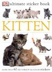 Ultimate Sticker Book: Kitten: More Than 60 Reusable Full-Color Stickers Cover Image