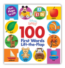 Disney Baby 100 First Words Lift-the-Flap Cover Image