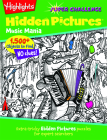 Music Mania: Extra-tricky Hidden Pictures® puzzles for expert searchers (Highlights(TM) Super Challenge Hidden Pictures®) Cover Image