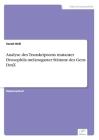 Analyse des Transkriptoms mutanter Drosophila melanogaster Stämme des Gens DmX Cover Image