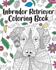 Labrador Retriever Coloring Book Cover Image
