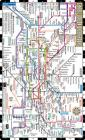 Streetwise London Underground Map - Laminated Map of the London Underground, England (Michelin Streetwise Maps) Cover Image