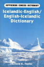 Icelandic-English/English-Icelandic Concise Dictionary (Hippocrene Concise Dictionary) Cover Image