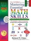 Mastering Essential Math Skills Book 2, Bilingual Edition - English/Spanish Cover Image