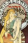 Classic Journal: Alphonse Mucha Art Nouveau 6 x 9 Journal, Diary, Notebook, 150 Pages Cover Image