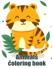Animals coloring book: coloring book for adults stress relieving designs Cover Image