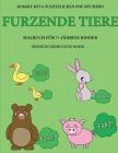 Malbuch für 7+ jährige Kinder (Furzende Tiere): Dieses Buch enthält 40 stressfreie Farbseiten, mit denen die Frustration verringert und das Selbstvert Cover Image