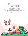 Easter Scissor Skills: 54 Pages Activity Book for Kids Cover Image