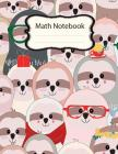 Math Notebook: Math Notebook For Kids, Composition Notebook, Graph Paper Notebook, Math Diary Worksheet, 2 square per inch, with Mult Cover Image