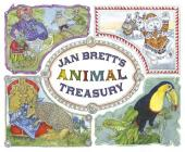 Jan Brett's Animal Treasury Cover Image