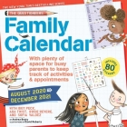 The Questioneers 17-Month 2020-2021 Family Wall Calendar: August 2020-December 2021 Cover Image