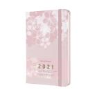 Moleskine 2021 Sakura Weekly Planner, 12M, Large, Hard Cover (5 x 8.25) Cover Image