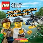 LEGO City: ¡Policías, ladrones y cocodrilos! (Cops, Crocks, and Crooks!) Cover Image
