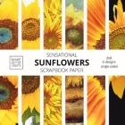 Sensational Sunflowers Scrapbook Paper: 8x8 Designer Floral Patterns for Decorative Art, DIY Projects, Homemade Crafts, Cool Art Designs Cover Image