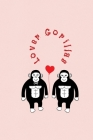 Lover Gorillas: Valentine's Day Gift - ToDo Notebook in a cute Design - 6