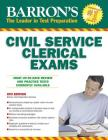 Civil Service Clerical Exam (Barron's Test Prep) Cover Image