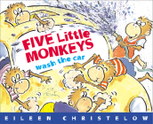 Five Little Monkeys Wash the Car (A Five Little Monkeys Story) Cover Image