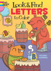 Look & Find Letters to Color (Dover Coloring Books) Cover Image