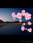 Kanji Writing Notebook: Mt Fuji Cherry Blossom - Deluxe Large Size Writing Practice Book Cover Image
