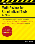 CliffsNotes Math Review for Standardized Tests 3rd Edition Cover Image