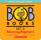 Bob Books - Advancing Beginners Box Set | Phonics, Ages 4 and up, Kindergarten (Stage 2: Emerging Reader): 8 Books for young readers Cover Image