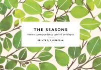 The Seasons Note Cards: 20 Flat Cards & Envelopes Cover Image