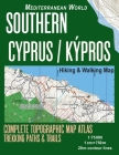 Southern Cyprus / Kypros Hiking & Walking Map 1: 75000 Complete Topographic Map Atlas Trekking Paths & Trails Mediterranean World: Trails, Hikes & Wal Cover Image