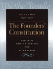 The Founders' Constitution: Major Themes Cover Image