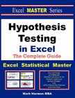 Hypothesis Testing in Excel - The Excel Statistical Master Cover Image