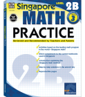 Math Practice, Grade 3 (Singapore Math Practice) Cover Image