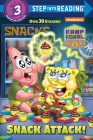 Snack Attack! (Kamp Koral: SpongeBob's Under Years) (Step into Reading) Cover Image