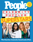 People Celebrity Puzzler Superstars: Word Searches, Crosswords, Second Looks, and More Cover Image