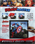 Drawmaster Marvel Avengers: Captain America, Hawkeye and Black Widow (Deluxe Set) Cover Image