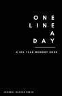 One Line A Day Journal Cover Image