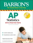 AP Statistics: With 6 Practice Tests (Barron's Test Prep) Cover Image