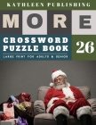 Crossword Puzzles Large Print: crosswords for teens - More 50 Large Print Crosswords Puzzles to Keep you Entertained for Hours - santa claus decorati Cover Image