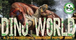 Dino World: A 3-D Prehistoric Dinosaur Pop-Up Cover Image