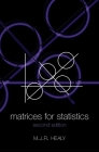 Matrices for Statistics Cover Image