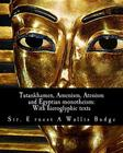 Tutankhamen, Amenism, Atenism and Egyptian monotheism;: With hieroglyphic texts: With hieroglyphic texts of hymns to Amen and Aten Cover Image