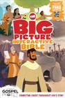 The Big Picture Interactive Bible for Kids, Hardcover: Connecting Christ Throughout God's Story (The Big Picture Interactive / The Gospel Project) Cover Image