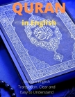 Quran in English: Modern English Translation. Clear and Easy to Understand. Cover Image