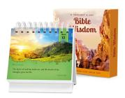 A Thought a Day--Bible Wisdom: A Daily Desktop Quotebook Cover Image