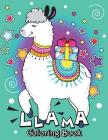Llama Coloring Book: An Animals Coloring Books Cover Image