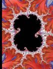Composition Notebook - College Ruled, 100 Sheets: Mandelbrot Set Fractal Art Adriyen (200 Pages, 7.5 X 9.75) Cover Image