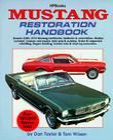 Mustang Restoration Handbook: Restore 1965-1970 Mustang Notchbacks, Fastbacks & Convertibles Cover Image