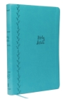 KJV, Value Thinline Bible, Compact, Imitation Leather, Blue, Red Letter Edition Cover Image
