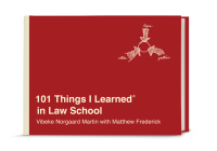 101 Things I Learned® in Law School Cover Image
