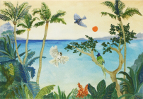 Tropical Paradise Note Cards Cover Image
