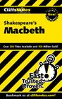CliffsNotes on Shakespeare's Macbeth Cover Image